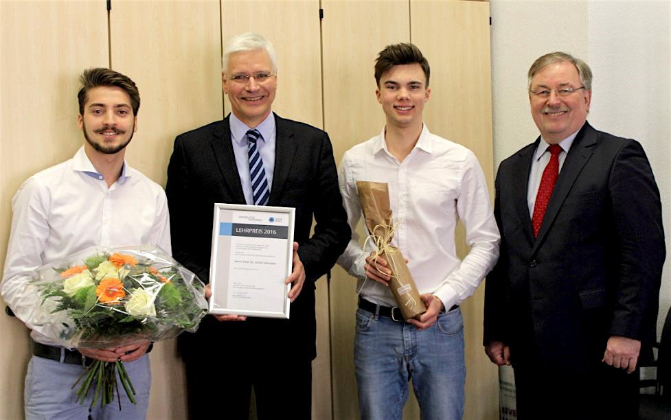 Fachschaftslehrpreis 2016